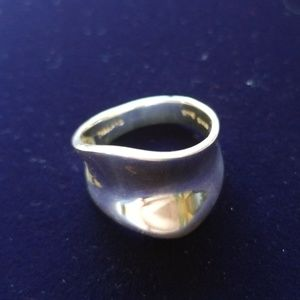 Sterling Silver Printed Thailand Ring. Size 7.5